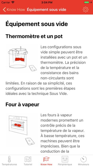 Screenshot for Sous Vide °Celsius in Lebanon App Store