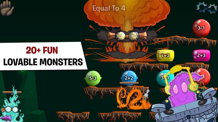 Monster Math For Kids - Games screenshot-3