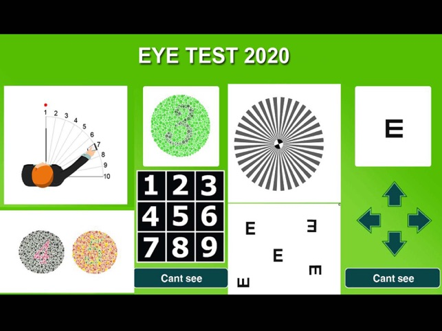 ‎Eye Test 2020 Capture d'écran