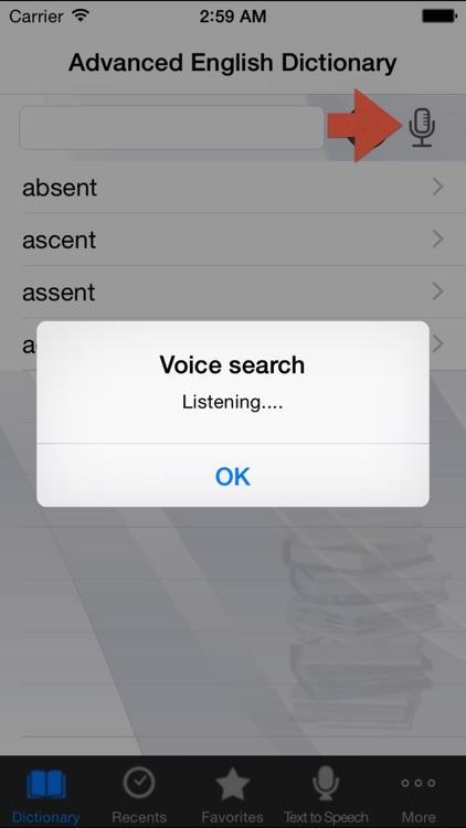 Advanced English Dictionary++ screenshot-3