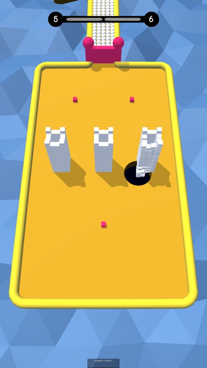 Hungry Hole 3D - Color Domino