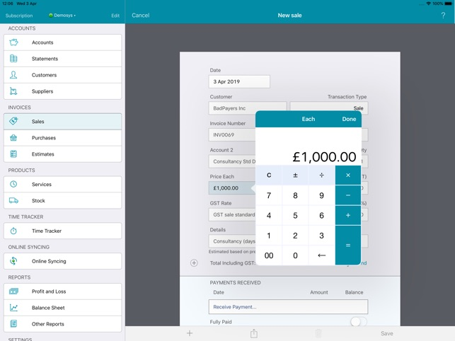 EasyBooks Accounting on the App Store