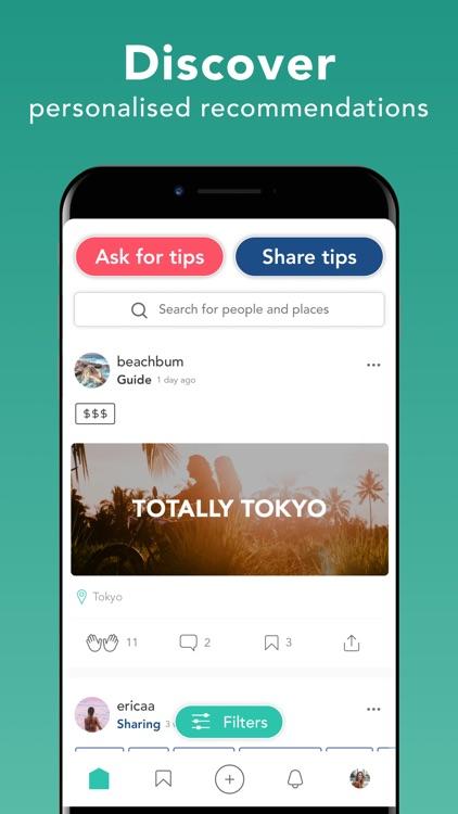 Trotter Travel Planner screenshot-0