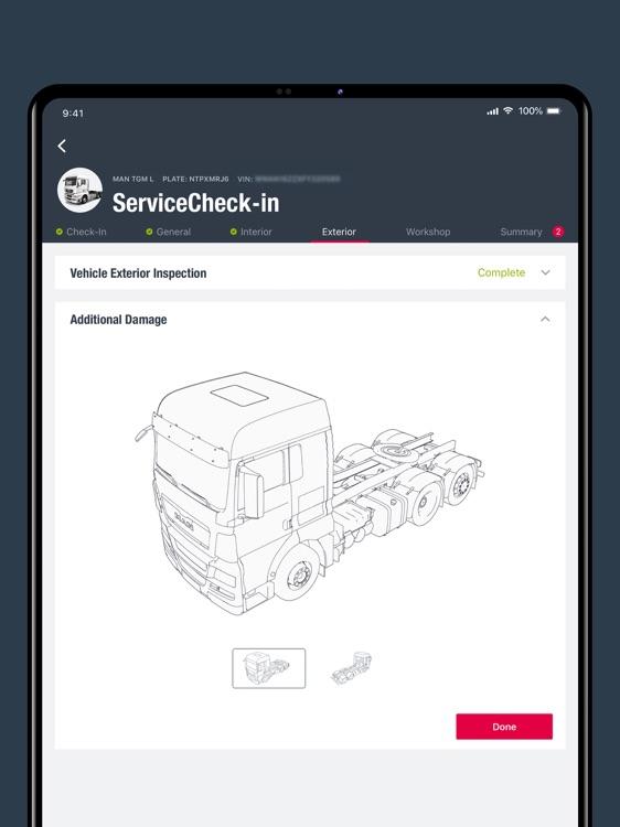MAN ServiceCheck-in