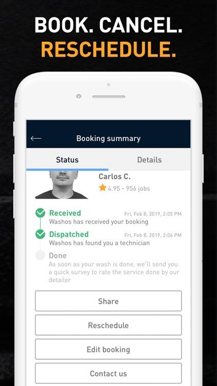 Washos: Mobile Car Wash App screenshot-6