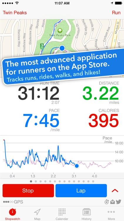 Runmeter Running & Cycling GPS screenshot-0