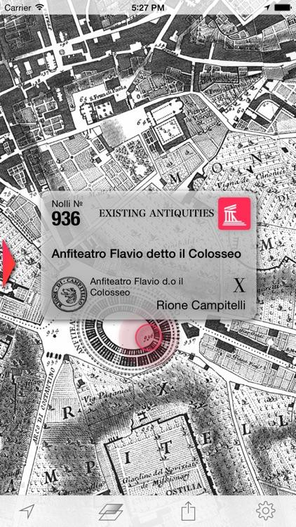 Nolli - Navigate Rome in 1748