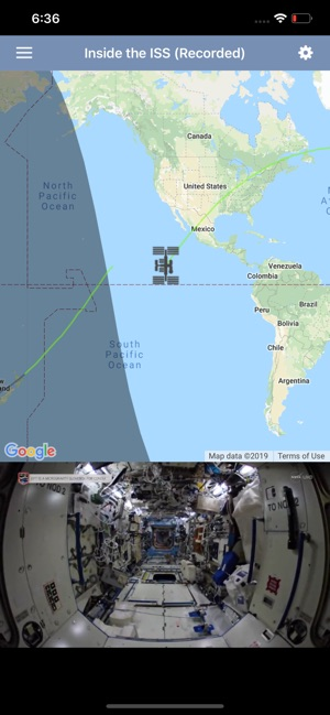 ISS HD Live on the App Store