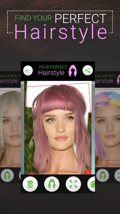 Perfect Hairstyle Women PRO screenshot-3