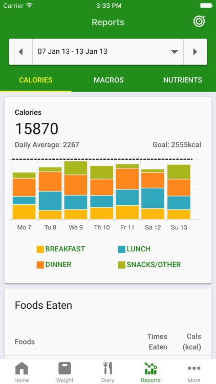 Calorie Counter by FatSecret screenshot-3