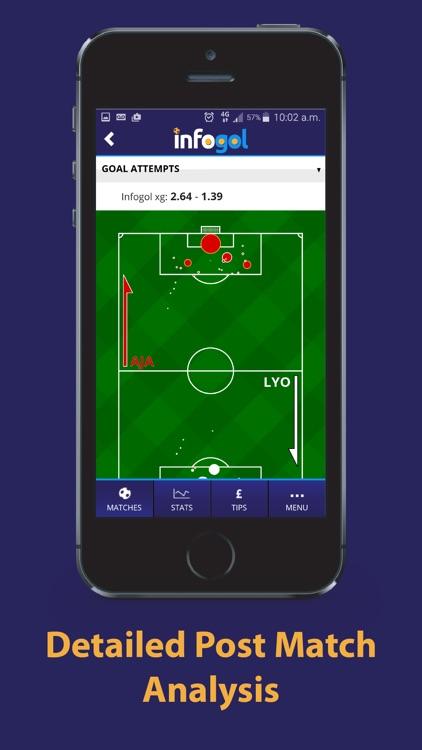 Infogol – Expected Goals App screenshot-4