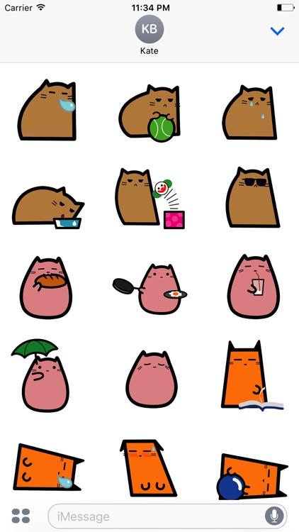 CUTE CAt DOg Animated Sticker