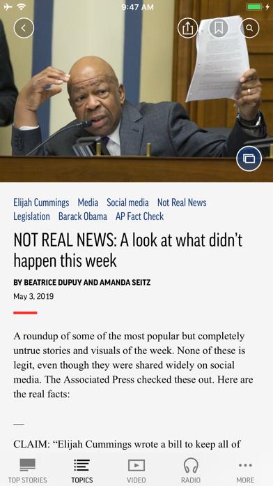 Ap News review screenshots