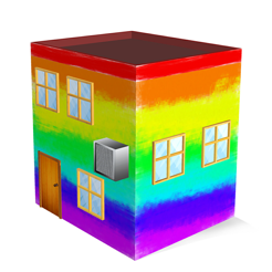 ‎House Paint 3D - Home Coloring