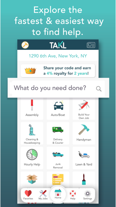 messages.download Takl - Home Services On Demand software