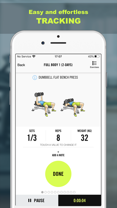 Gym Life - Workout Scheduleのおすすめ画像6