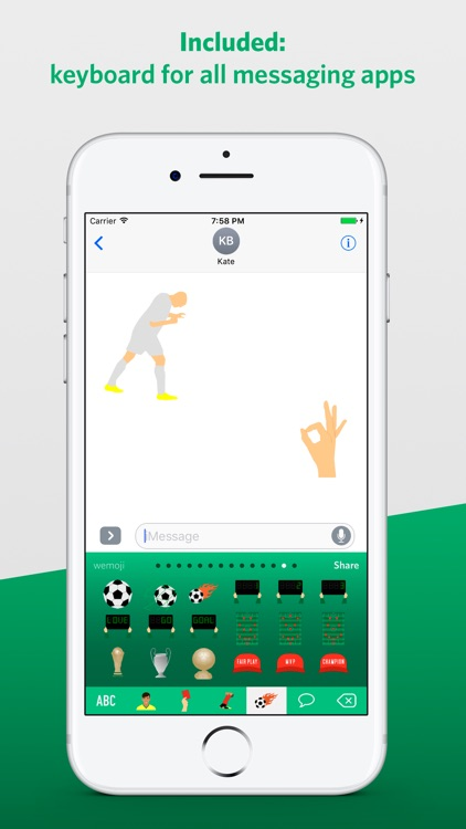 Football Emoji 2019 screenshot-3