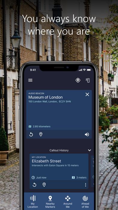 Microsoft Soundscape screenshot 4