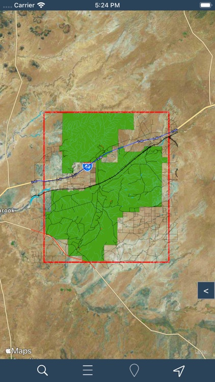 Petrified Forest N Park - GPS screenshot-5