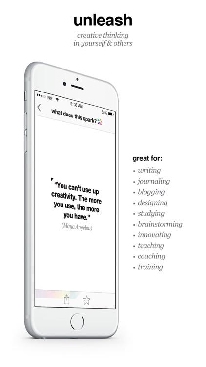 Brainsparker Creativity Cards screenshot-4