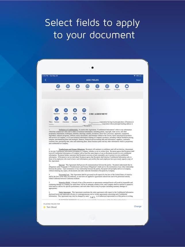 download the docusign app