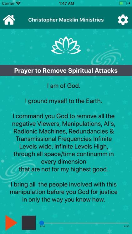 CM Prayers