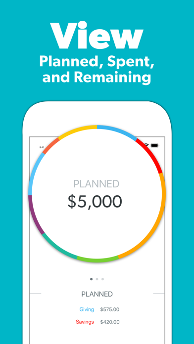 Screenshot for EveryDollar Easy Budgeting App in United States App Store