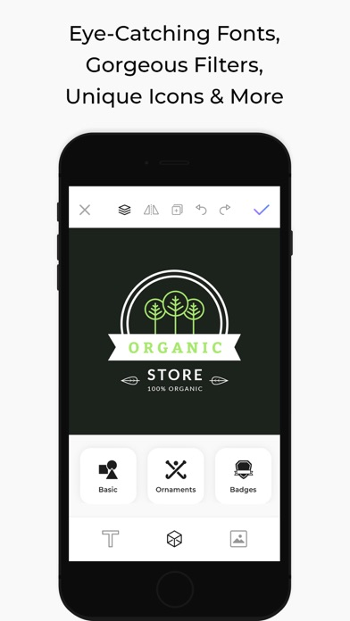アイコニック:ロゴメーカーとブランディング、ロゴの作成のスクリーンショット6