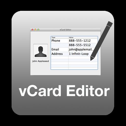 vCard Editor for Mac