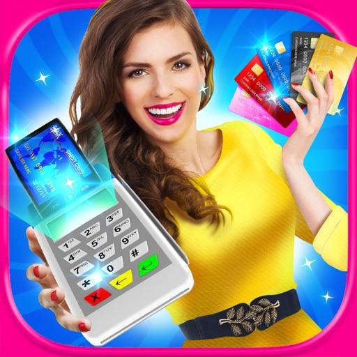 Shopping Mall Credit Card Girl