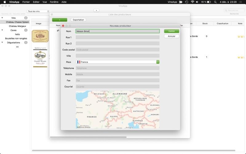 VinoApp for Mac