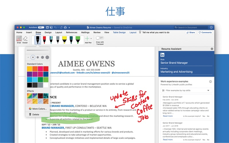 Microsoft Word ScreenShot2