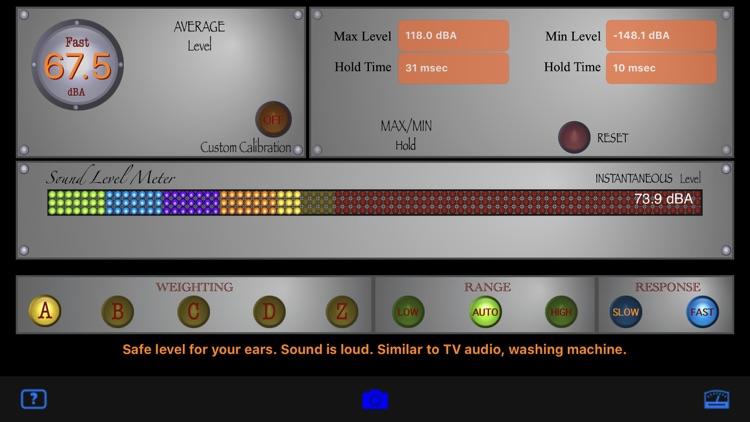 SoundMeter+ screenshot-4