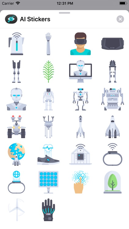 AI Stickers for iMessage