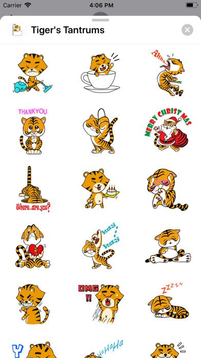 Tiger's Tantrums screenshot 1