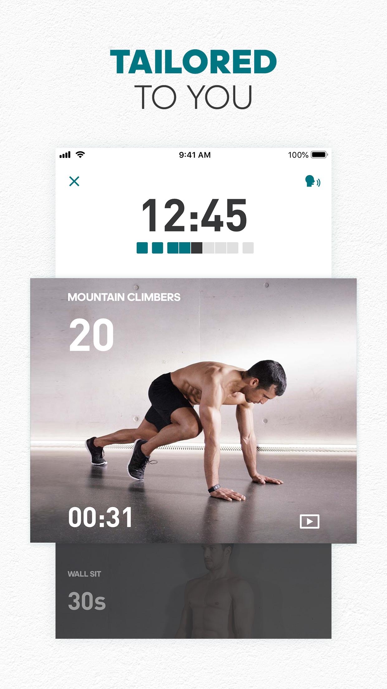 adidas Training by Runtastic Screenshot