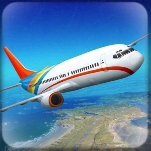 Flying Airplane Simulator 3D