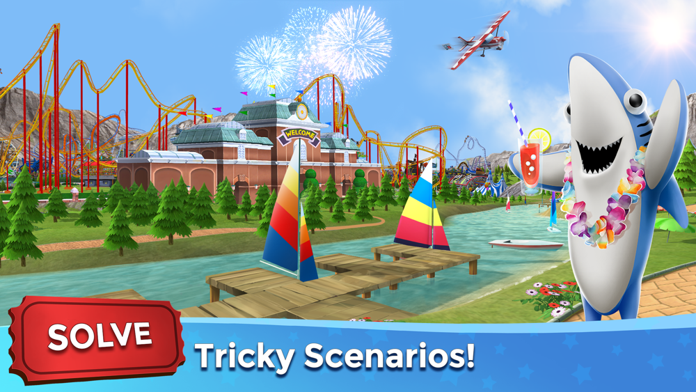 RollerCoaster Tycoon® Touch™ App for iPhone - Free Download