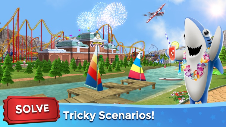 RollerCoaster Tycoon® Touch™ by Atari