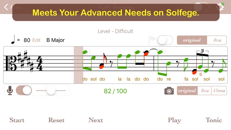 Sight Singing Pro - Full screenshot-0