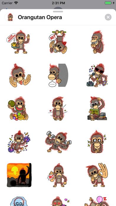 Orangutan Opera screenshot 1