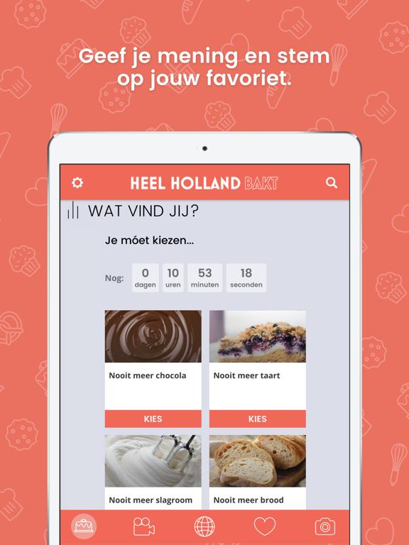 Heel Holland Bakt iPad app afbeelding 4
