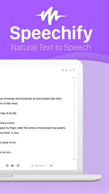 Speechify - Text to Speech screenshot-8