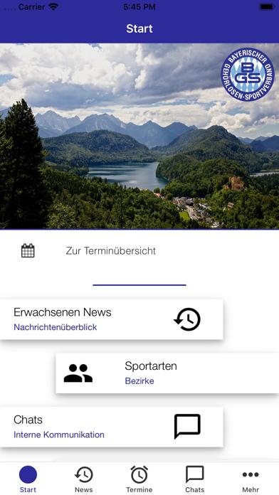Bay. Gehörlosen-SportverbandScreenshot von 2
