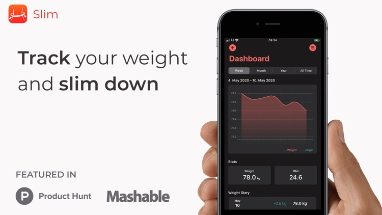 Slim - weight and BMI tracker