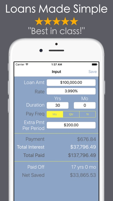 Loan Calculator - Mortgage Car-1