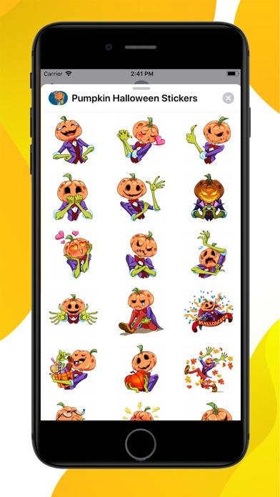 Pumpkin Halloween Stickers screenshot 1