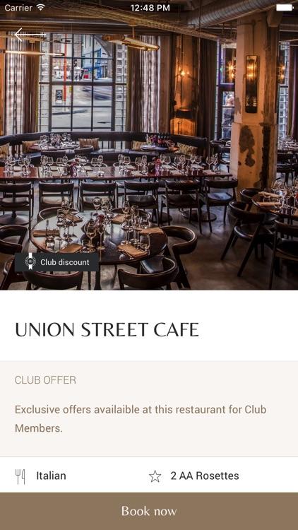 Luxury Restaurant Guide screenshot-3