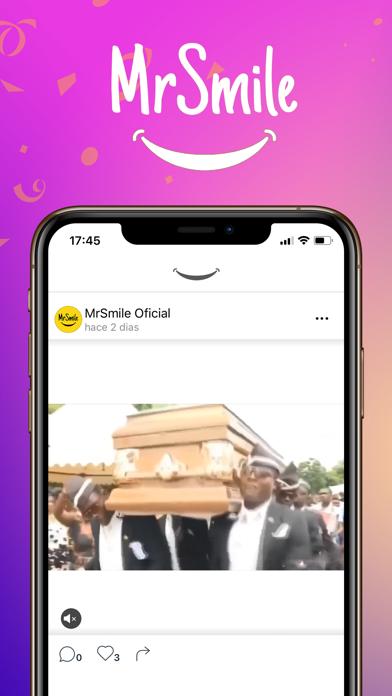 MrSmile - Meme Red SocialCaptura de pantalla de1