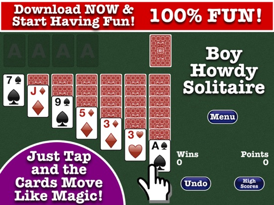 Solitaire – Boy Howdy Technology
